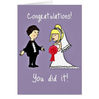 Lustige Hochzeitsglückwünsche Karten