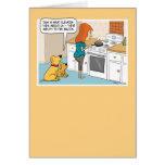 Lustige HundeLiebe-Speck-Geburtstags-Karte
