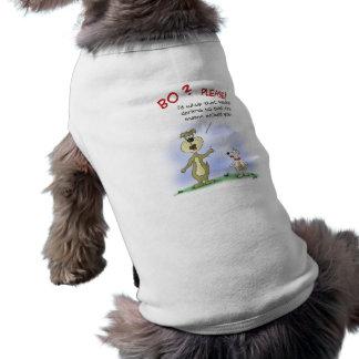 Lustige HundeT - Shirts: Hund klatschen Ärmelfreies Hunde-Shirt