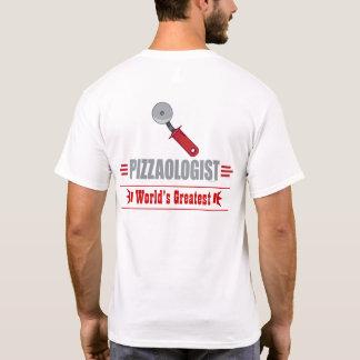 Lustige i-Liebe-Pizza T-Shirt