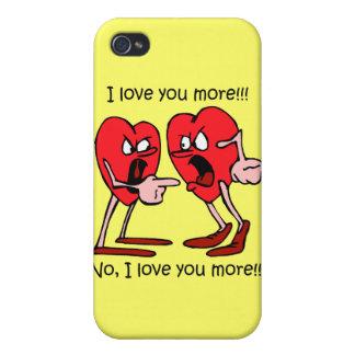 lustige i-Liebe Sie iPhone 4/4S Hüllen