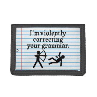 """Lustige """"Ihre Grammatik-still, korrigierend"""""""