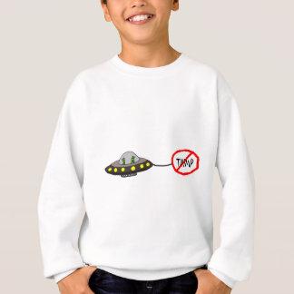 Lustige illegale Außerirdische gegen Trumpf Sweatshirt