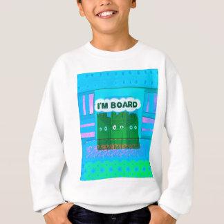 Lustige inspirierend Grafik bin ich gebohrte Sweatshirt