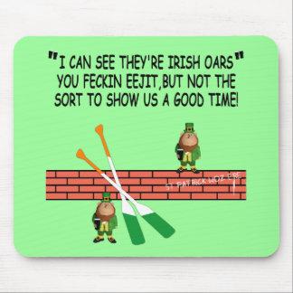 Lustige irische Kobolde Mauspads