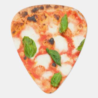 lustige italienische margherita Pizzascheibe Plektron