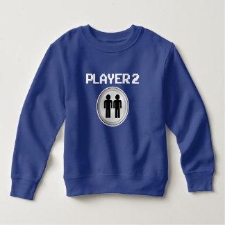 Lustige Jungenstrickjacke des Spielers 2 Sweatshirt