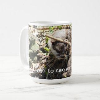 Lustige Kaffee-Tasse des Otters Kaffeetasse
