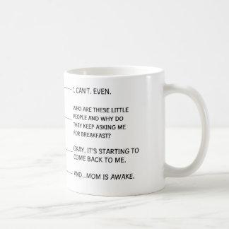 Lustige Kaffee-Tasse für Mamma Tasse