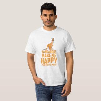 Lustige Kängurus - Spaß-Australier T-Shirt