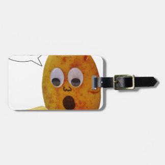 Lustige Kartoffel Gepäckanhänger