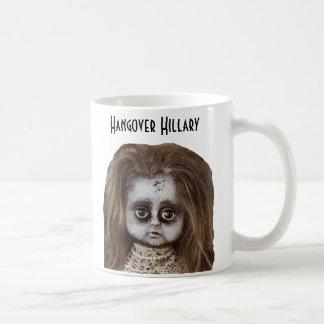 Lustige Katerhillary-Tasse Kaffeetasse