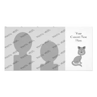 Lustige Katze Bildkarte