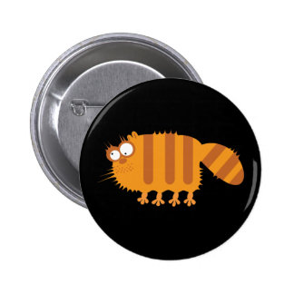 Lustige Katze Anstecknadelbutton