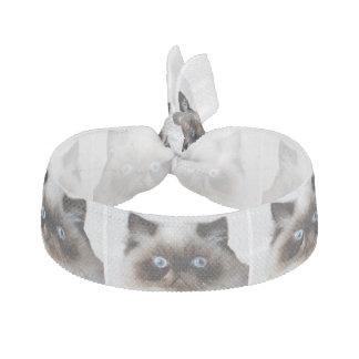 Lustige Katze Haargummi