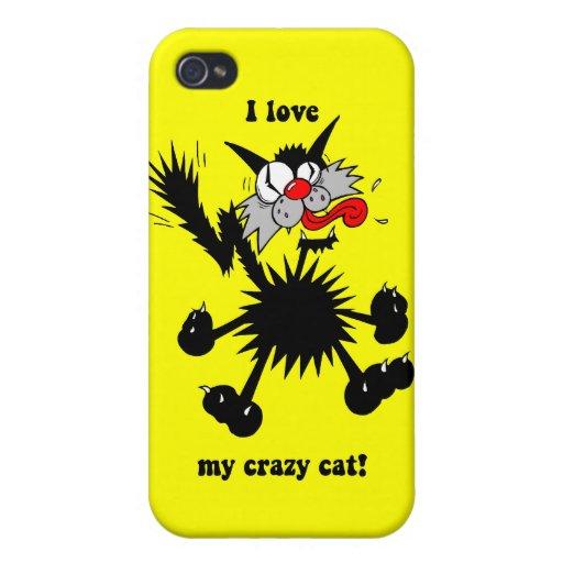 lustige Katze iPhone 4/4S Hüllen