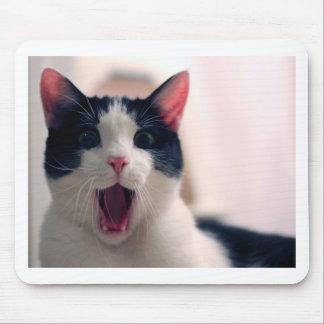 Lustige Katze Mauspad