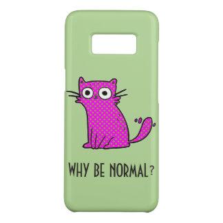 Lustige Katze, warum normale einzigartige modische Case-Mate Samsung Galaxy S8 Hülle