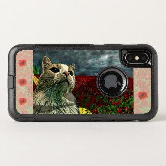 """Lustige Katze """"Zauberer von Oz"""" Baum Otterbox OtterBox Commuter iPhone X Hülle"""