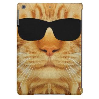 Lustige Katzen-coole Katze iPad Air Hülle