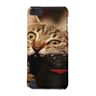 Lustige Katzen - Katzenkamera - Katzenbiss iPod Touch 5G Hülle
