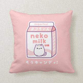 Lustige Katzen-Milch Kissen