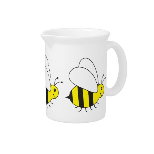 Lustige kleine Honig-Biene niedlich Getränke Krug