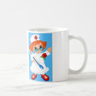 Lustige Krankenschwester-Tasse Kaffeetasse