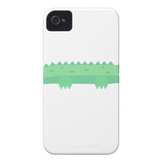 Lustige Krokodil-nahtloses Muster iPhone 4 Hülle
