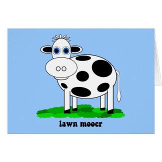 lustige Kuh Karte