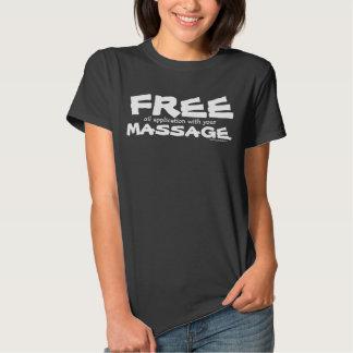 Lustige KUNDENGERECHTE freie Öl-Anwendung mit Hemden