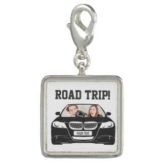 Lustige kundenspezifische Auto-Foto-Straßen-Reise Charm