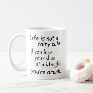 Lustige Lebenzitatneuheitswitz-Spaß-Redewendungen Kaffeetasse