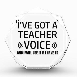 Lustige Lehrersprachentwürfe Auszeichnung