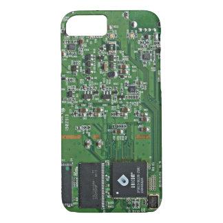 Lustige Leiterplatte iPhone 7 Hülle