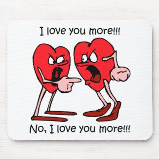 Lustige Liebe Mousepad