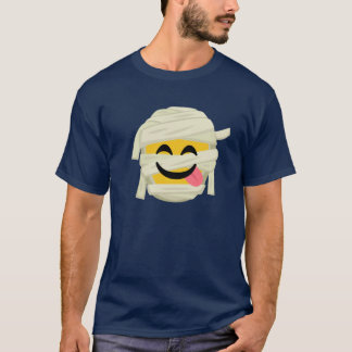 Lustige Mama Bleh Emoji Halloween lustiges T-Shirt