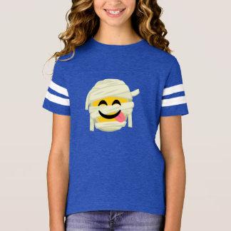 Lustige Mama Bleh Emoji Halloween T-Shirt