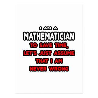 Lustige Mathematiker-T - Shirts und Geschenke Postkarte