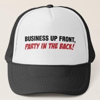 Lustige Meeräsche Qoute, Geschäft und Party Truckerkappe