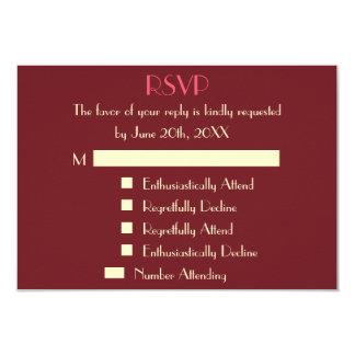 Lustige moderne personalisierte Hochzeit UAWG 8,9 X 12,7 Cm Einladungskarte