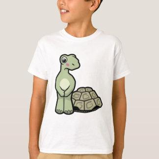 Lustige Muschel-lose Schildkröte scherzt T - Shirt
