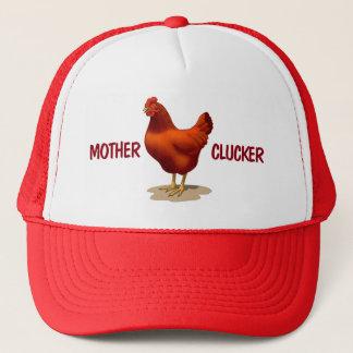 Lustige Mutter Clucker Huhn-Bauers-Rot-Henne Truckerkappe
