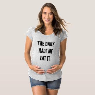 Lustige Mutterschaftsschwangerschaft das Baby Schwangerschafts T-Shirt