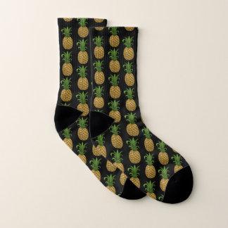 Lustige niedliche Ananas-gemustertes Druck-Muster Socken