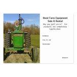 Lustige/niedliche benutzte landwirtschaftliche Mas