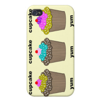 lustige niedliche kleine Kuchen iPhone 4/4S Hülle