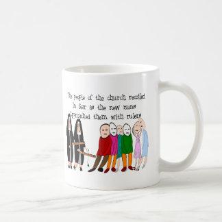 Lustige Nonnen-Karten und Geschenke Kaffeetasse