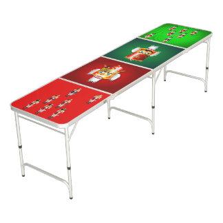 Lustige Nussknacker-Spielzeug-Soldat-Armee Beer Pong Tisch