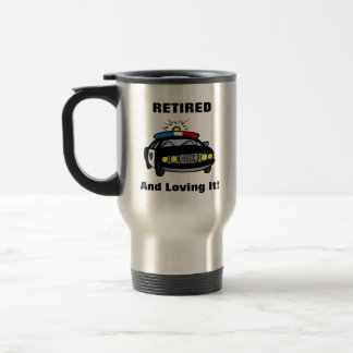 Lustige pensionierte edelstahl thermotasse